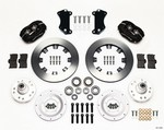 WILWOOD Front Brake Kit Heidts / Ridetch Drop Spindle 140-12306