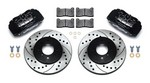 WILWOOD Brake Kit Front Honda/Acura Blk Drilled 140-12996-D