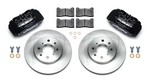WILWOOD Brake Kit Front Honda/Acura Black 140-12996