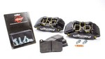 WILWOOD Caliper & Pad Kit Front Honda/Acura Black 140-13029