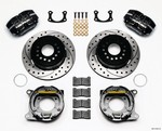 WILWOOD P/S Rear Brake Kit New Big Ford Drilled 2.5in 140-13181-D