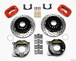 WILWOOD Rear Disc Brake Kit with Park BOP 2.75in Offset 140-13511-DR