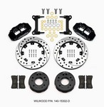 WILWOOD Front Disc Brake Kit C10 Pro Spindle 12.19in 140-15302-D