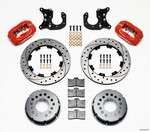 WILWOOD P/S Rear Disc Kit New Big Ford Drilled Red 140-2118-DR