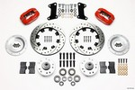 WILWOOD Front Brake Kit 67-72 Camaro Nova Red Calipers 140-7675-DR