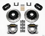 WILWOOD P/S Park Brake Kit Small Ford 2.50in 140-9282-D