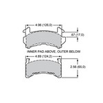 WILWOOD A Type Brake Pad Metric GM 15A-6219K