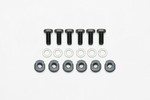 WILWOOD Rotor Bolt Kit Dyamic 6 Bolt 5/16-24 w/ T-Nut 230-14844