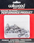WILWOOD Rotor Bolt Kit Stainless Hat/Rotor Set of 12 230-8008