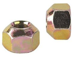 A-1 10525 5/8-11 STEEL LUG NUTS, 10 pack